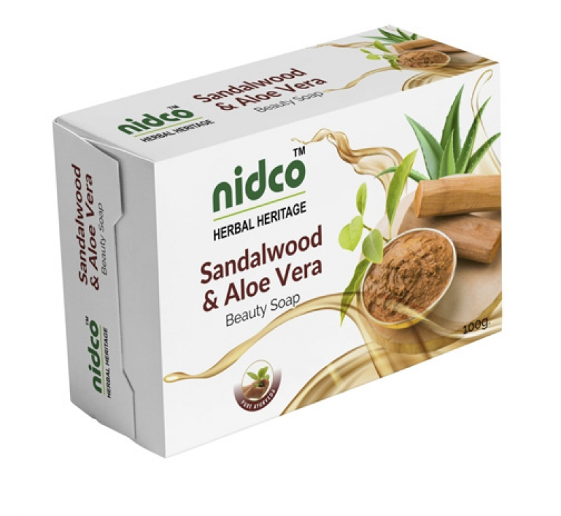 Sandalwood and Alovera Soap 100 gm x 4